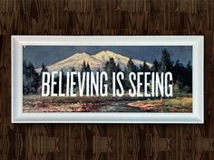 I Don't Believe in You Either, A Bigfoot Art Show  by Office, via Behance