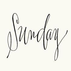 lazy sunday typeface