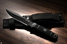 """SOG SEAL Team Elite- Overall Length: 12.3"""" Blade Length: 7"""" Product Weight: 10.30oz Steel Type: AUS-8 Photo Credit: Zorin Denu"""
