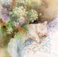 Красота и нежность природы в картинах Lena Liu - Ярмарка Мастеров - ручная работа, handmade