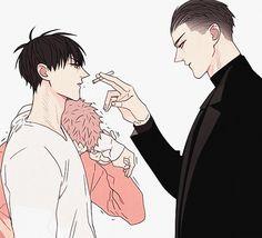 TianShan with Daddy Cheng ❤😉😂 Manga Anime, Manga Boy, Manhwa Manga, Anime Guys, Anime Art, 19 Days Characters, 19 Days Manga Español, Fantasy Art Men, Levi X Eren