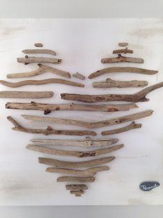 Tableau en bois flottés