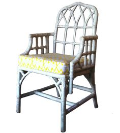 This came up so well, it looks like a McGuire rattan chair. New Life, Rattan, Fabrics, Chair, Inspiration, Furniture, Design, Home Decor, Wicker