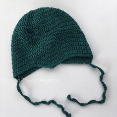 Frøken Thys kreahjørne: DIY: Hæklet djævlehue str. 6-9 mdr Crochet Baby Hats, Crochet For Kids, Diy Crochet, Baby Boy, Baby Kids, Chrochet, Diy Baby, Needlework, Winter Hats