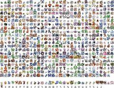 Awesome Pokemon Sprites