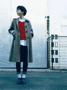 麻絵さんのシャツ・ブラウス「ELLE 白シャツ」を使ったコーディネート