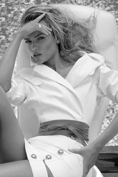 """Natasha Poly in """"L'Extase"""" for Vogue Paris, June/July 2014 Photographed by: Inez & Vinoodh"""