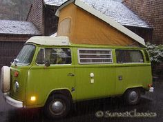 1976 VW Westfalia Bus. Once upon a time I had one of these. I miss it.