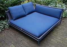 Gartensofa CANVAS v. Paola Lenti dunkelblau #sofa #gartensofa #outdoor #Blau #Navi