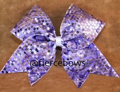 245d025a7a Items similar to Reversible Sequin Cheer Bow on Etsy