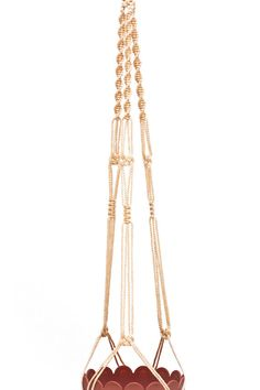 Macrame Plant Hanger - Hanging Planter - 3mm Vintage 40 inches Beige on Etsy, $10.33 AUD