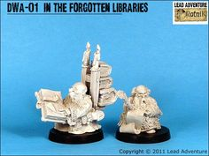 In the Forgotten Libraries Tabletop, Lead Adventure, Science Fiction, Miniatures, Fantasy, Libraries, Strategy Games, Sci Fi, Table