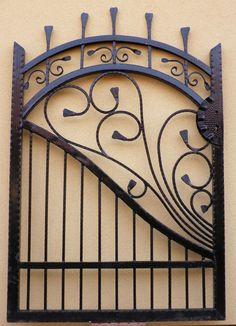 Cancello Pedonale Pforte Tor Gate Portillon en fer Forgé Puerta Hierro Peatonal