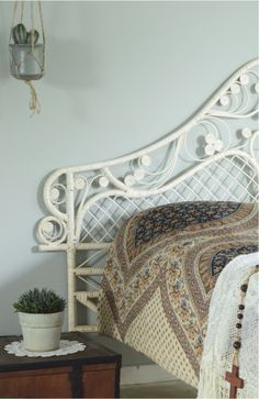 Vintage bedroom by Painting The Past