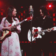 """The White Stripes Last Performance "" The White Stripes, Jack White, Megan White, Seven Nation Army, Resident Evil 5, Roxy Music, The Third Man, Jim Morrison, Shades Of White"
