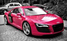 Pink Audi. AAAAAAAAAAAAAAAAHHHHHHHHHHHHHHHHHHHHHHHHHHHHH