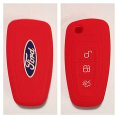 FORD RED CAR FLIP KEY REMOTE COVER CASE RANGER FOCUS FIESTA MONDEO 2012 2013 in Vehicle Parts & Accessories, Car, Truck Parts, Ignition Systems | eBay!