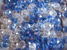 Swarovski Faceted Rondelles Color Combo 8x6mm $5
