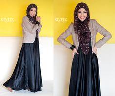 KIVITZ: Fitri Aulia in Hijabella Magazine