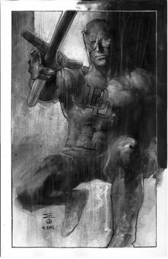 DAREDEVIL Comic Art