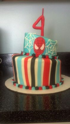 Spiderman Cake I did for a little boy