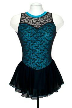 Jerry's 683 Overlace Dress Sky Blue