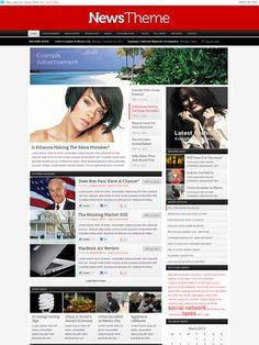 The News WordPress Theme for Online Magazine Sites