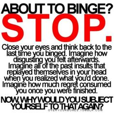 About to Binge? STOP!