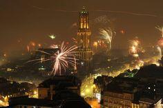 New Year in Utrecht, Netherlands
