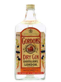 Image result for vintage gordon and co gin label