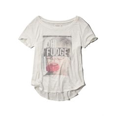 Abercrombie & Fitch Oh Fudge Graphic Tee