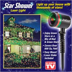 Buy Star Shower Laser Light from Bed Bath & Beyond Stuff Pinterest Stars, Lights and Into ...