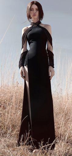 Pretty Outfits, Pretty Dresses, Beautiful Dresses, Cool Outfits, Dress Outfits, Fashion Dresses, Kleidung Design, Modelos Fashion, Fantasy Dress