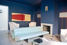 Casa Fayette - AD España, © Undine Pröhl Una de las salas comunes con sofá Divano 016 de los diseñadores.