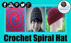 Crochet Spiral Hat Tutorial