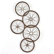 1000 Images About Garage Decor On Pinterest Bike Wheels