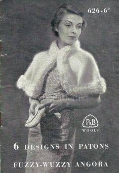 This PDF Knitting Pattern is for 6 really beautiful Ladies Retro Fashion Garments from the 1930s.    Its for 6 fabulous fashion designs, 5 of