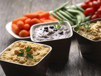 Black bean dip - use as a spread in wraps or dip chips, crackers or veggies Gf Recipes, Bean Recipes, Vegetarian Recipes, Healthy Recipes, Healthy School Lunches, Healthy Snacks, Healthy Eating, Pulses Recipes, Bean Dip