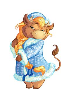 GIRL COW