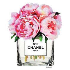Watercolor Pink Peony vase, fashion inspired, Peony, peonies, Gift,... ❤ liked on Polyvore featuring home, home decor, metallic home decor, inspirational home decor, metallic tote, pink home decor and pink tote