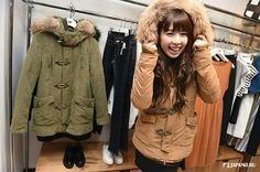 "Military ""N3-B"" the NEW SEXY point ^^ SLY @ Lumine Est Shinjuku B1  #japankuru#japan#cooljapan#tokyo#100tokyo#lumineest#lumine#shinjuku#shopping#fashion"