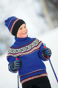 Knitting For Kids, Knitting For Beginners, Nordic Style, Vintage Knitting, Sorting, Norway, Barn, David, Europe
