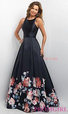 Vestido longo floral                                                                                                                                                                                 Mais