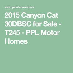 2006 Forest River Silverback - Before You Buy, Sell or Trade an RV, visit PPL. 2015 Canyon, Forest River, Palomino, Motorhome, Cats, Homes, Vacation, Gatos, Houses