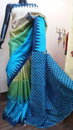 Kanjivaram Sarees Silk, Kota Silk Saree, Silk Cotton Sarees, Tussar Silk Saree, Pure Silk Sarees, Simple Saree Designs, Simple Sarees, Sari Blouse Designs, Latest Silk Sarees