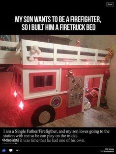Boys bed idea