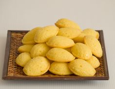 Minimagdalenas de limón