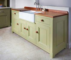 Buffet Cabinet Kitchen Sink · British Kitchen DesignFree Standing ...