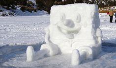 spongebob snowman