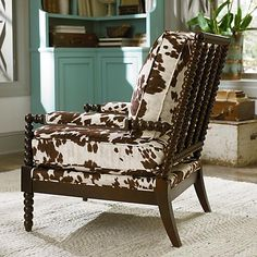 Bassett furniture bobbin chair - change the fabric, of course